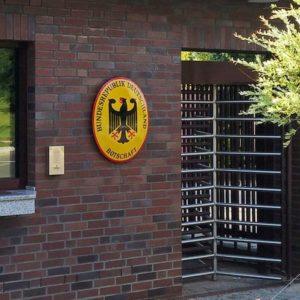 Пограничный пункт Германия